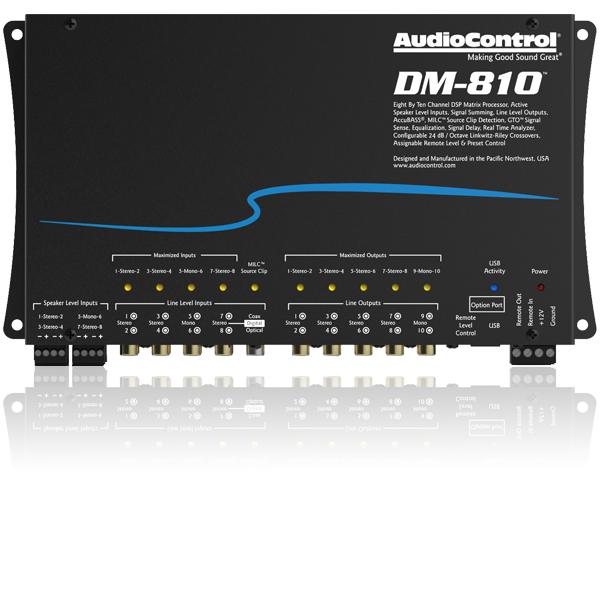 New Product Release - AudioControl DM-810 DSP Processor