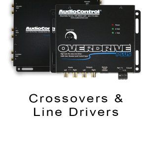 Crossovers & Line Drivers