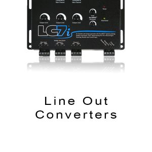 Line Out Converters