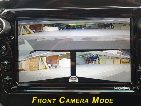 Cam-MV6-N Multiview Front Or Reverse Camera Mirror Image EchoMaster Six View